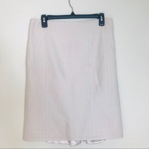 Rebecca Taylor Blush Wool Blend Skirt 8